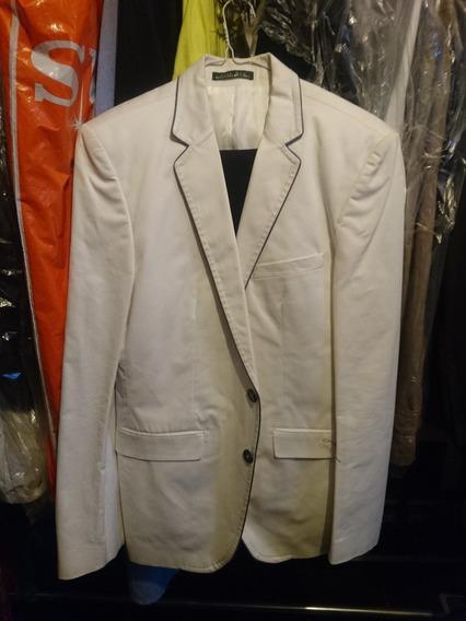Saco Zara Blazer,color Blanco,talla 36