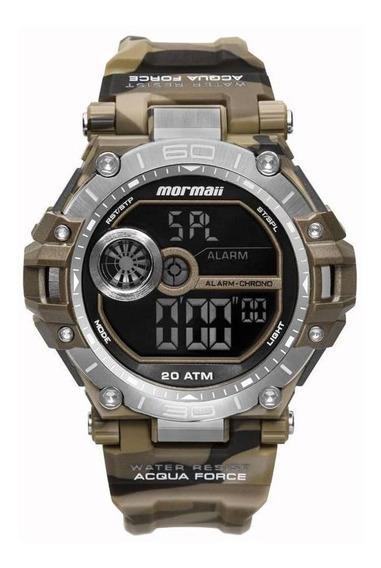 Relógio Mormaii Masculino Ref: Mo14073ab/8m Acqua Camuflado