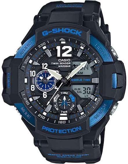 Relógio Casio G-shock Gravitymaster Ga-1100-2bdr