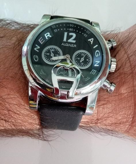 Relógio Aigner Analógico Inox