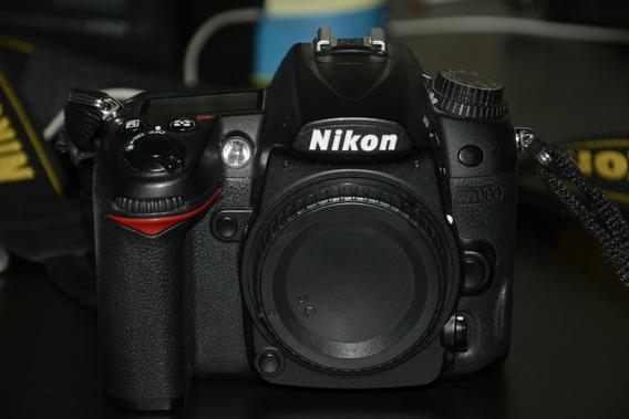 Camera Nikon D7000 Corpo+bateria+carregador+micro Sd16gb
