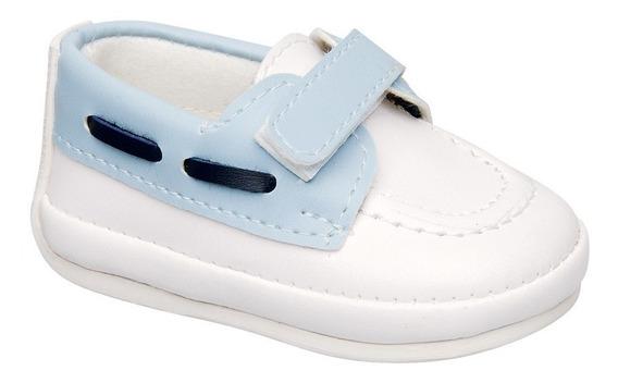 Zapato Nautico Con Abrojo Bebe Pbebe775