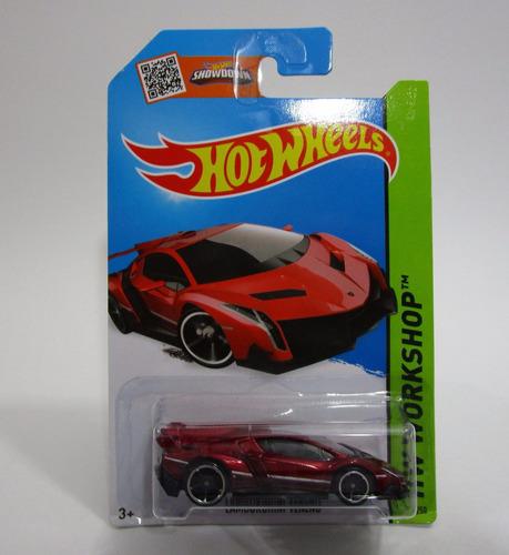 Lamborghini Veneno Escala 1/64 Coleccion Hot Wheels