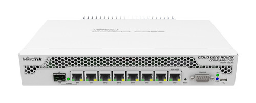 Mikrotik Ccr1009-7g-1c-pc 9 Cores 1.2 Ghz 1gb Ram  Level 6