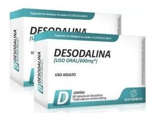 Kit 2x Emagrecedor Desodalina 600mg - 60 Cápsulas