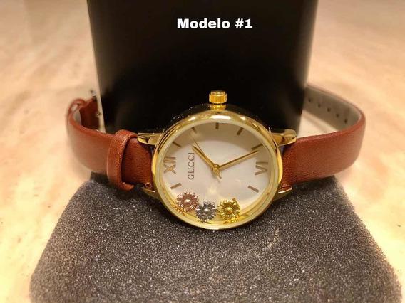 Relojes Calidad Premium Para Dama Varias Marcas Gccci/arm/mi