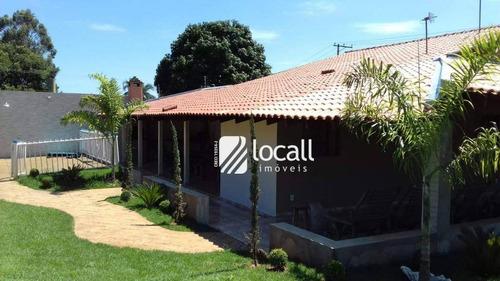 Imagem 1 de 12 de Chácara Com 3 Dormitórios À Venda, 1400 M² Por R$ 790.000,00 - Estancia São Paulo  - Guapiaçu/sp - Ch0049