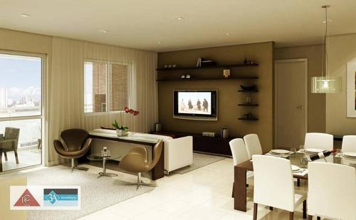 Imagem 1 de 20 de Apartamento Com 3 Dormitórios À Venda, 110 M² Por R$ 990.000 - Tatuapé - São Paulo/sp - Ap5770