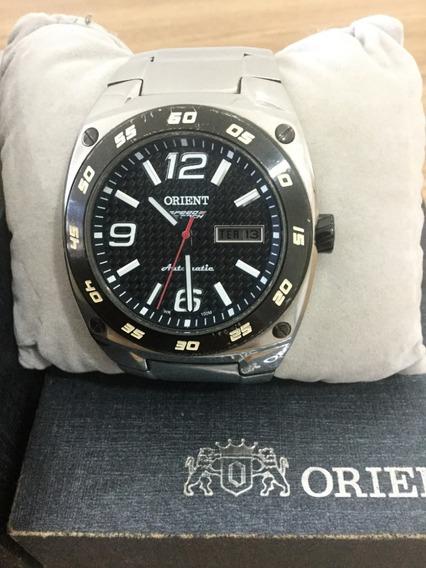 Relógio Orient Masculino Automatico Speedtech 469ss 020