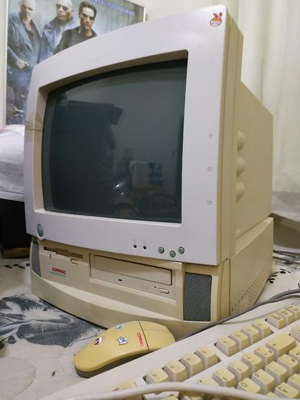 Compaq Presario 5220 Antigo - Teclado, Mouse, Cd