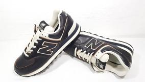 Tênis New Balance 574 Classics Traditionnels- Couro