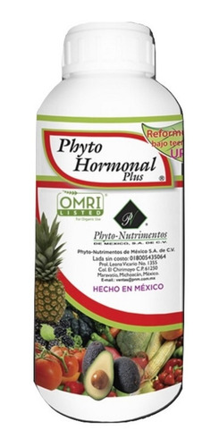 Imagen 1 de 1 de Hormonas Reguladora De Crecimiento Orgánico Frutal 1 Litro