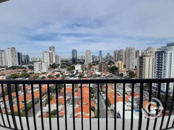 Apartamento Duplex, No Contrapiso, Com 2 Dormitórios À Venda, 106 M² Por R$ 1.262.000 - Brooklin - São Paulo/sp - Ad0030
