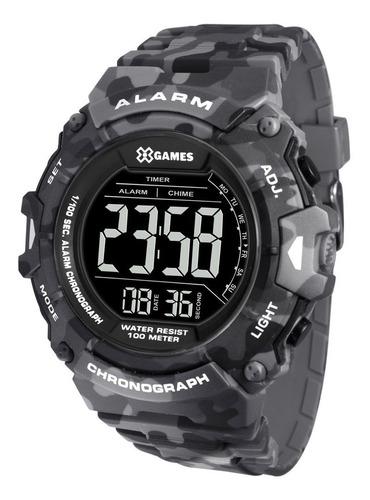 Relógio Masculino Camuflado X-games Digital Silicone +nf