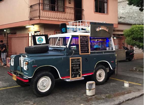 Foodtruck En Venta - Land Rover Santana + Producto Unico