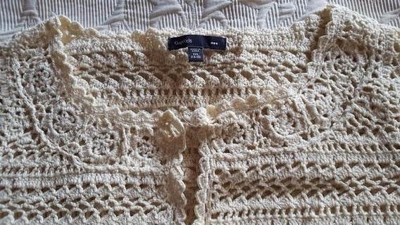 Sacos Tejidos Tipo Crochet Gap Nena - Casi Nuevos!
