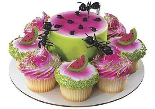 Imagen 1 de 2 de Hormigas Plasticas Cake Topper - 12 Piezas