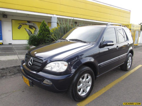 Mercedes Benz Clase Ml 320 3.2 At 5 Psj
