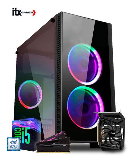 Pc Gamer I5 9400f B360m Rtx 2060 6gb Ram 8gb Fan 5 Cores