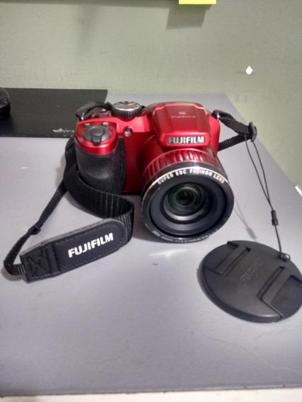 Câmera Digital Fuji Perfeita Conservação Vermelha Fotografia