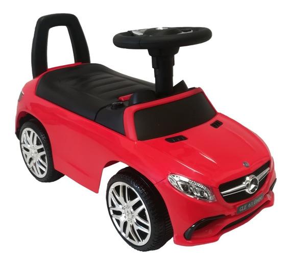 Montable Andadera Con Luz Y Sonido Mercedes Benz 6557 Rojo