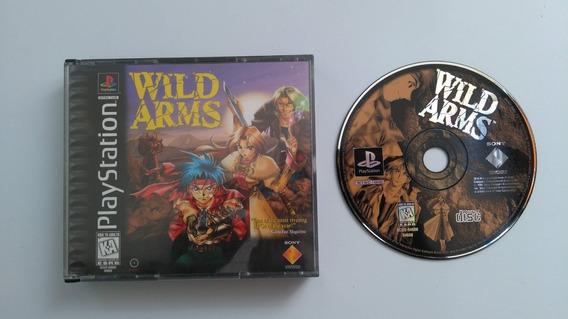 Wild Arms Original Ps1 Playstation 1