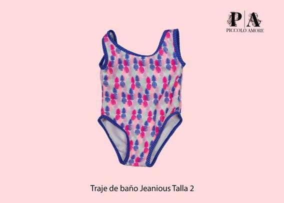 Traje De Baño Nina Jeanius Jn Piñas