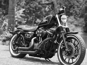 Harley Davidson Sportster 883 R - Customizada - Impecavel