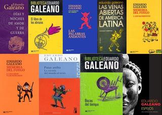 Colección 15 Libros De Eduardo Galeano - Digital