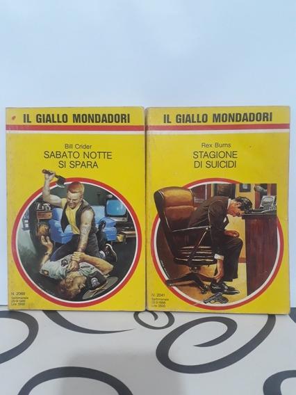 Lote Livros Coleção: Il Giallo Mondadori (n° 2041 E N° 2069)