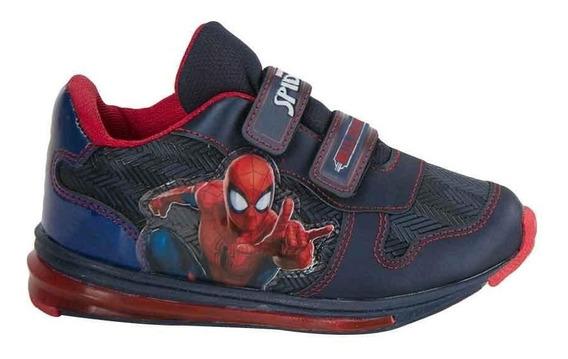 Tenis Casual Spiderman Fieltro Niño 2722 - Ps