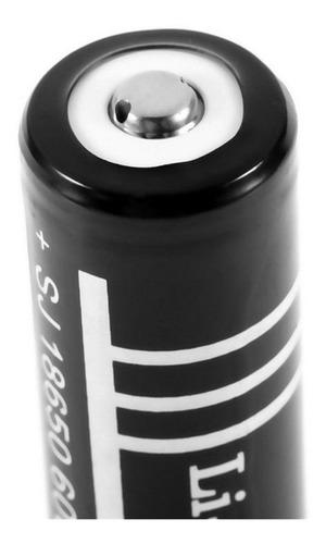 2 Baterias 18650 De 6000 Mah + Cargador Doble