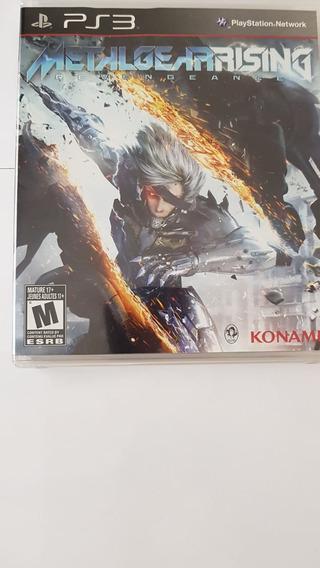 Jogo Metal Gear Ps3