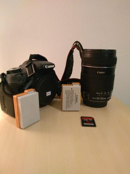 Canon T3i + Lente 18-135mm