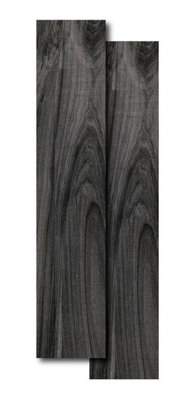 Porcelanato Portinari Sim Madera Abitare Gris Oscuro 20x P