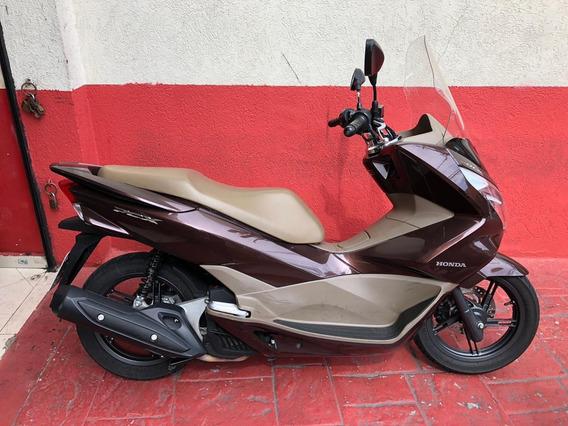 Honda Pcx 150dlx 2017 Marrom