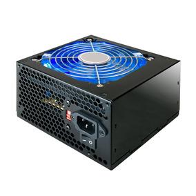 Fonte 500w Real Atx 24 Pinos High Power Com Led Azul Mymax