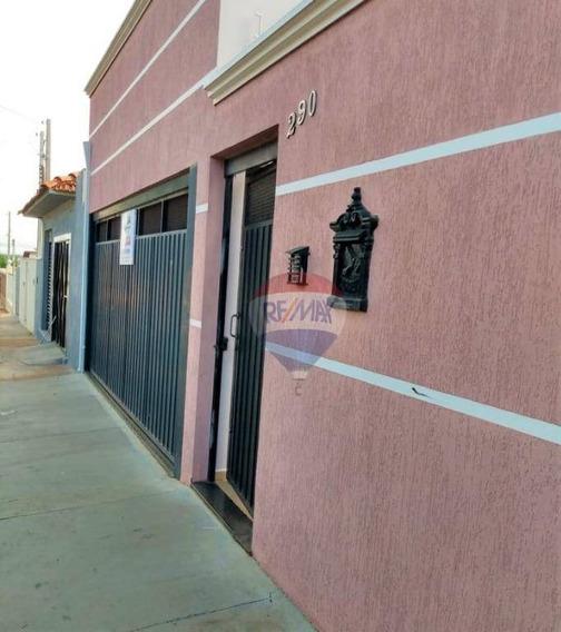 Casa Com 2 Dormitórios Para Alugar, 100 M² Por R$ 2.000/mês - Jardim Dona Nicota De Barros - Botucatu/sp - Ca0727