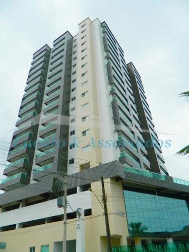 Apartamento Na Vila Anhanguera Em Mongaguá, 02 Dormitórios Sendo 01 Suíte, Sacada Gourmet Com Vista Para O Mar, 01 Vaga De Garagem - Ap01906 - 67727149