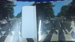 Beatles Abbey Road Box Remera Póster Y Disco Vinilo