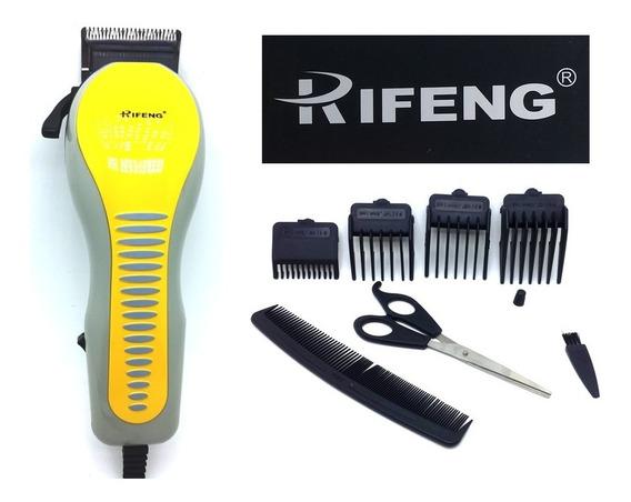 Maquina Cortar Cabelo Barba Aparador Professional Rscw 110v