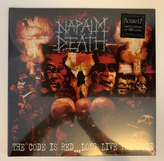 Lp Vinil Napalm Death The Code Is Red... Long Live The Code