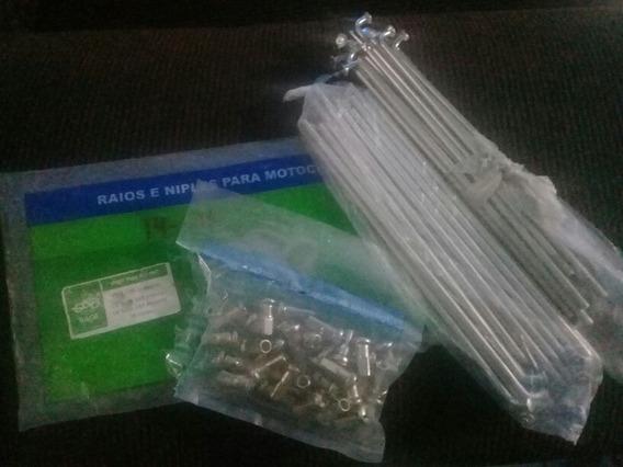 Raios De Inox Ybr 4mm Dianteiro