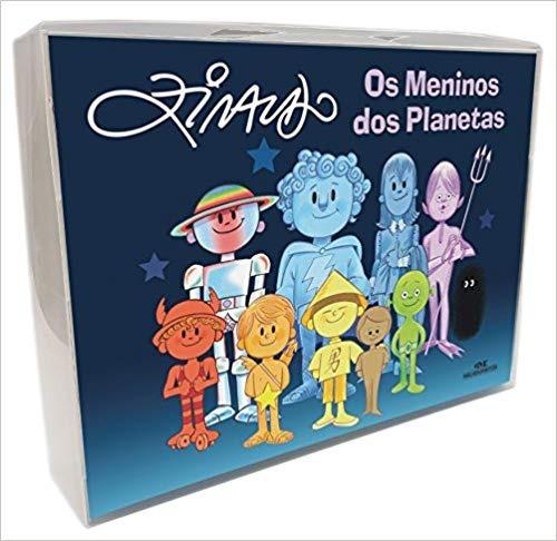 Livro Os Meninos Dos Planetas - Maleta