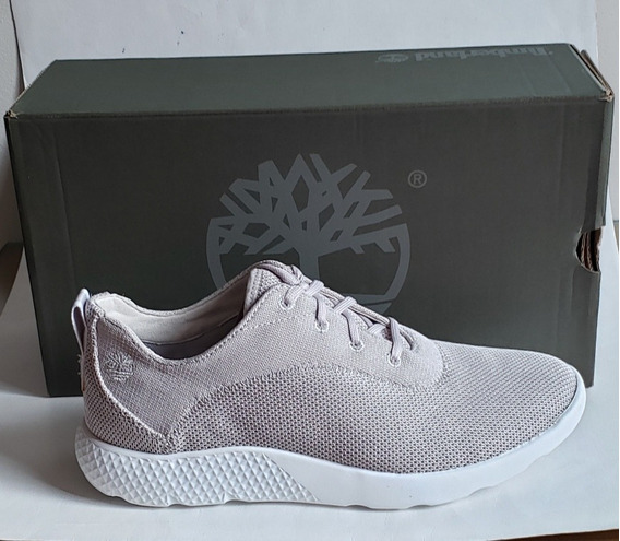 Tênis Timberland Flyroam Oxford Light Grey Knit T40