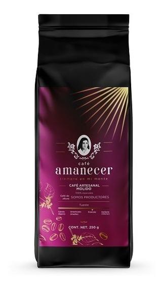 Café Amanecer 100% Puro Gourmet De Altura 250gr Molido