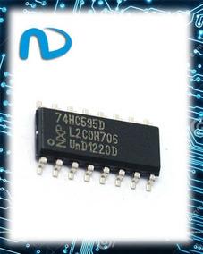 Sn74hc595n Registrador De Deslocamento 8-bit Serial Smd