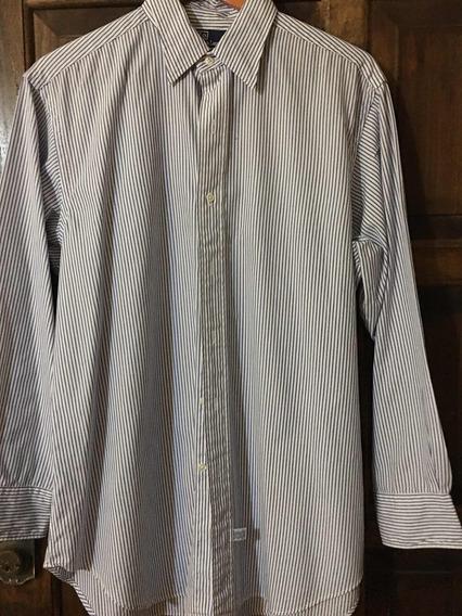 Camisa Original De Vestir Polo Ralph Lauren Talla L Envío Gr