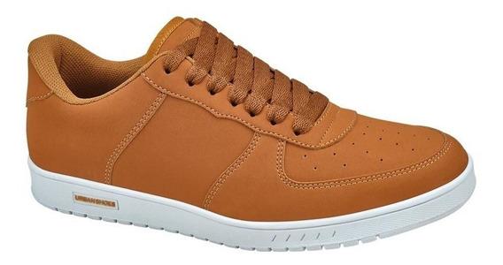 Tenis Casual Urban Shoes T521 D830156 Camel Para Hombre Msi