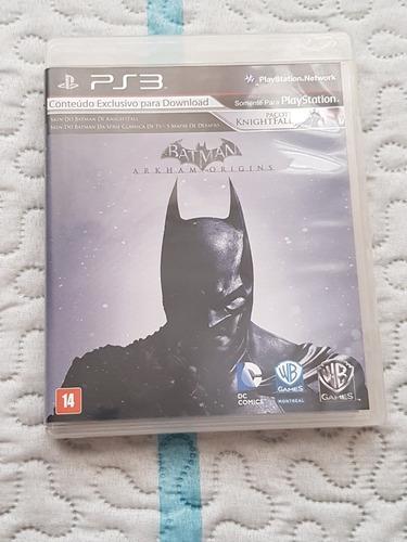 Imagem 1 de 3 de Jogo Ps3 - Batman Arkham Origins